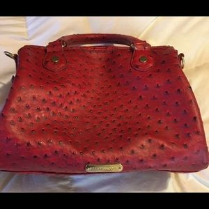 Steve Madden red leather bag